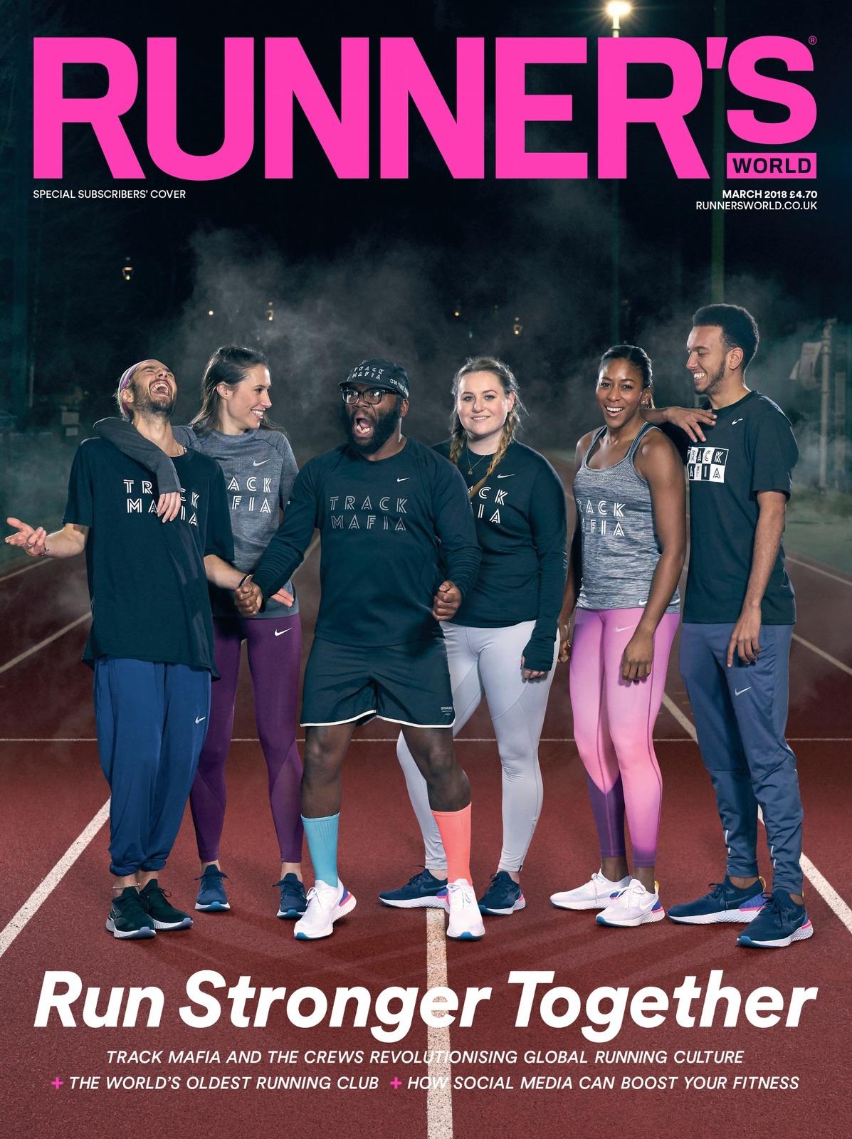 desconocido Amabilidad pedestal  NIKE TRACK MAFIA - RUNNER'S WORLD COVER SHOOTS