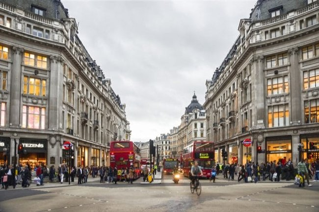 Oxford street London 2020