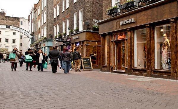 Berwick Street & Carnaby Street in Soho